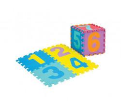 Dìtská hrací podložka s èísly Sedco 30x30x1,2cm - 10ks