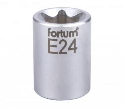 """E24 TORX hlavice nástrčná 1/2"""" FORTUM"""