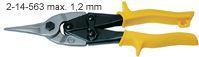 Nůžky na plech přímé 250mm STANLEY MaxSteel Aviation 2-14-563