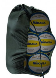 Míče beach volejbal MIKASA SET 6ks + nylonová síť