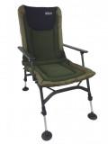 Rybáøská židle s opérkou FISHING FLEECE FC007