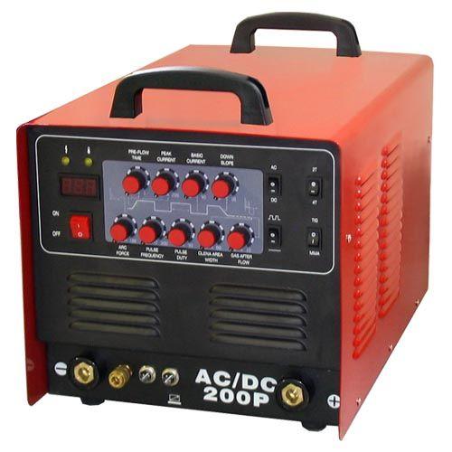 Svářečka na hliník TIG 200P AC/DC + TIGový hořák 8m