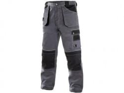 Kalhoty CXS ORION TEODOR, zimní, prodloužené, pánské, šedo-černé