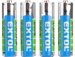 Baterie AA zink-chloridové 4ks, 1,5V AA (R6)