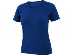 Tričko ELLA dámské, krátký rukáv, středně modrá