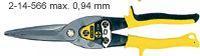 Nůžky na plech přímé 300mm STANLEY MaxSteel 2-14-566