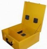 Kufr pro invertory OMICRON žlutý PFC