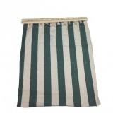 Houpací bavlnìná sí� SEDCO 200x80cm zelenobílá