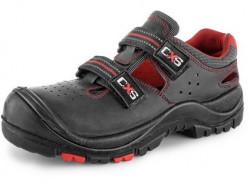 Obuv sandál CXS ROCK MICA S1P, černý
