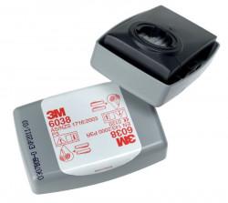 Filtr 3M 6038 P3 s aktivním uhlím - 1ks