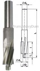 Záhlubník 8x4,3 pro válcový šroub M4 ČSN 221604