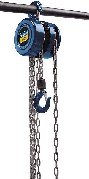 Řetězový kladkostroj SCHEPPACH CB 01, 1tuna 3m