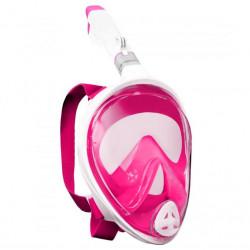Potápěcí celoobličejová maska SEDCO + GoPro adaptér L/XL růžová