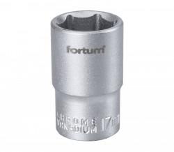 "17mm hlavice 1/2"" 6hran FORTUM"