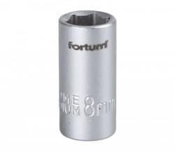 """8 mm hlavice nástrčná FORTUM 1/4"""""""
