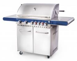FLORIDA BBQ Premium, plynový gril 7 hoøákù + OBAL + grilov. sada + RV