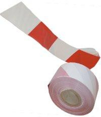 Páska èerveno-bílá zábrana vstupu 500m 70mm