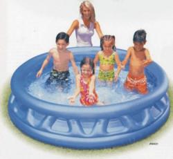 STŘÍBRNÝ Bazén 188x46cm nafukovací INTEX