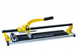 Řezačka dlažby 60cm s vodící x-lištou a hliníkovým stolem PROTECO
