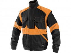Pracovní blůza CXS LUXY EDA černo-oranžová 1155BL