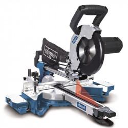 Scheppach HM 90 MP dvourychlostní pokosová pila s potahem, laser, LED