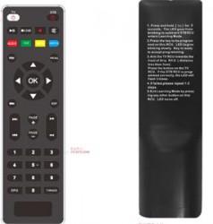 Dálkové ovládání set-top boxu s ovládáním TV, Tesla TE-300/301. Alma 2820
