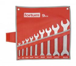 6-32mm FORTUM 4730101 klíče ploché 9ks