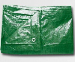 Plachta 2x3m zakrývací zelená 70g/m2
