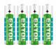 Baterie AA tužková HR6 nabíjecí 1,2V 2400mAh NiMh 4ks EXTOL
