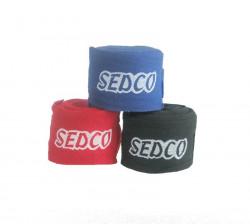 SEDCO Bandáž Fit Box 3m x 5cm èervená, bavlna (èerný nápis)