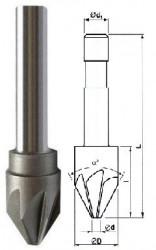 Záhlubník 90x8 mm kuželový 221627