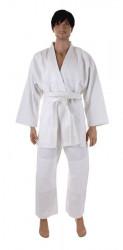 Kimono JUDO s páskem vel.6 (190cm) barva bílá