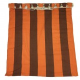 Houpací bavlnìná sí� SEDCO 200x80cm oranžovohnìdá
