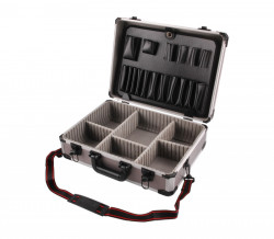 Kufr na nářadí hlíníkový 450x330x150mm EXTOL 9700