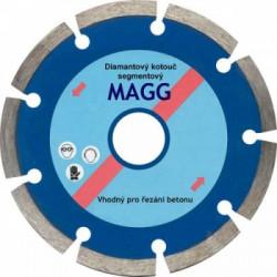 Diamantový kotouč 125mm MAGG segmentový