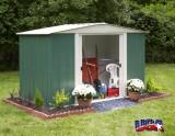 DRESDEN 106 zahradní domek zelený 313x181cm
