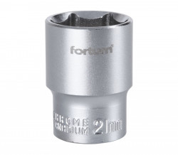 "21mm hlavice 1/2"" 6hran FORTUM"