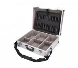 Kufr na nářadí hliníkový 46x33x15cm EXTOL 9703