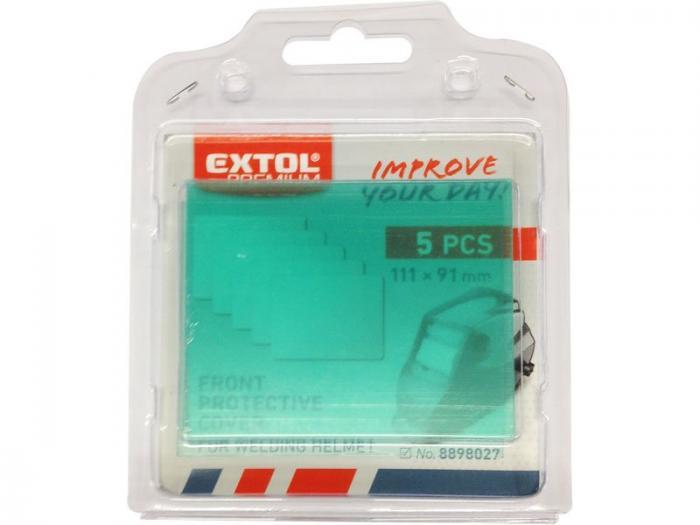 Ochranné fólie, 5ks pro kuklu 8898027 EXTOL