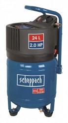 Scheppach HC 24 V bezolejový vertikální kompresor 10Bar 24L
