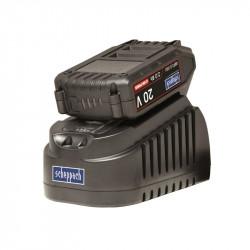 Nabíječka 20V + Baterie 20V 2Ah Scheppach ABP2.0-20Li KIT A