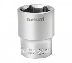 "22mm hlavice 1/2"" 6hran FORTUM"