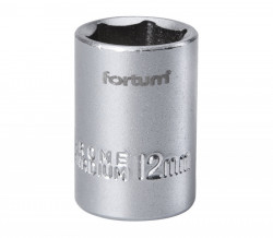 """12 mm hlavice nástrèná FORTUM 1/4"""""""