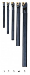 Soustružnické nože HM 8/10/12/16/20 mm, sada 5ks