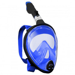Potápěcí celoobličejová maska SEDCO + GoPro adaptér L/XL modrá