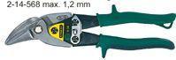 Nůžky na plech pravé vyhnuté STANLEY MaxSteel Aviation