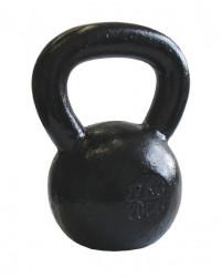 Ketlebel 20 kg kovový ACRA