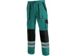 Kalhoty CXS LUXY BRIGHT pánské zeleno-černé