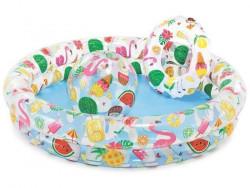 Dětský bazénový SET INTEX 59460 Fruity - 122x25 cm + kruh + míč