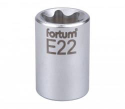 """E22 TORX hlavice nástrčná 1/2"""" FORTUM"""